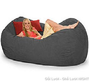 Ghế Sofa GL083 (Chất liệu Kate Phi) màu Xám, cỡ đại ngồi cho nhiều người