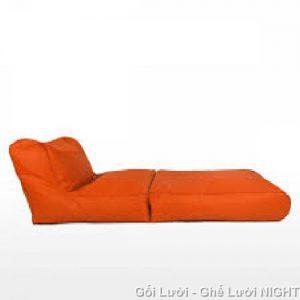Gối lười hạt xốp Sofa kiêm giường GL037 (Chất liệu Kate Phi)