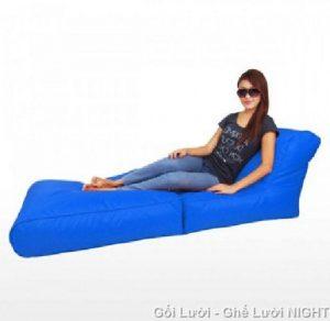 Gối lười hạt xốp Sofa kiêm giường GL118 (Chất liệu vải nhung lạnh hàn quốc)